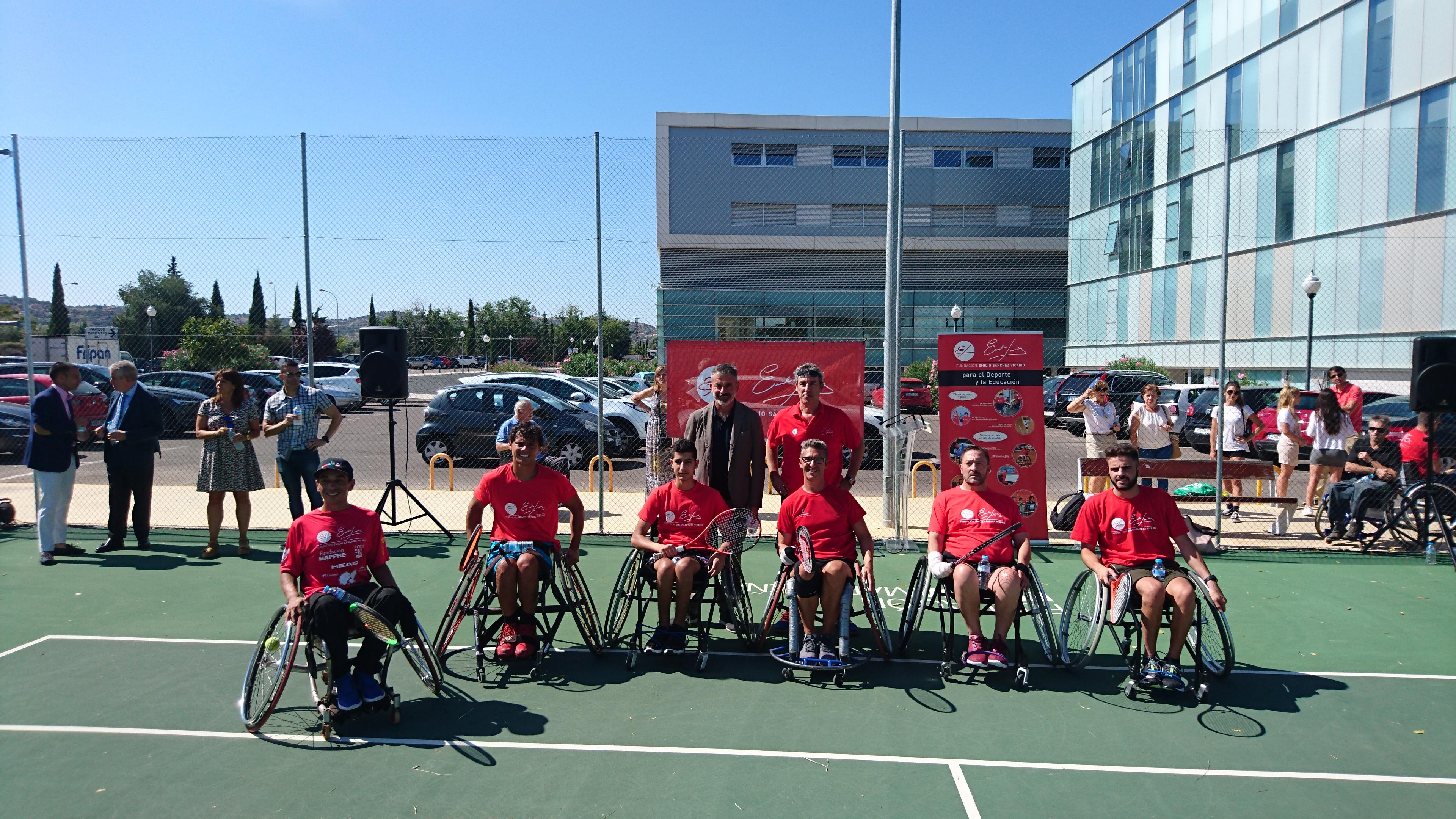 Image for El tenis en silla de ruedas, ejemplo de superación en Hospital Parapléjicos de Toledo con Escuela FESV