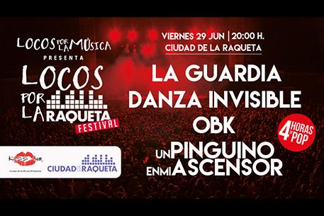 Image for Presentado el «KissFM-Locos por la música 2018» en La Ciudad de la Raqueta, Madrid