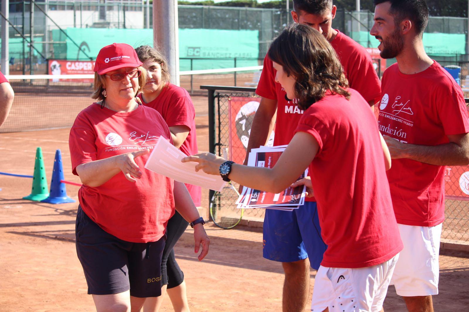 Image for 6ª Clausura Escuela Tenis y Discapacidad Fundación Emilio Sánchez Vicario en Sánchez-Casal
