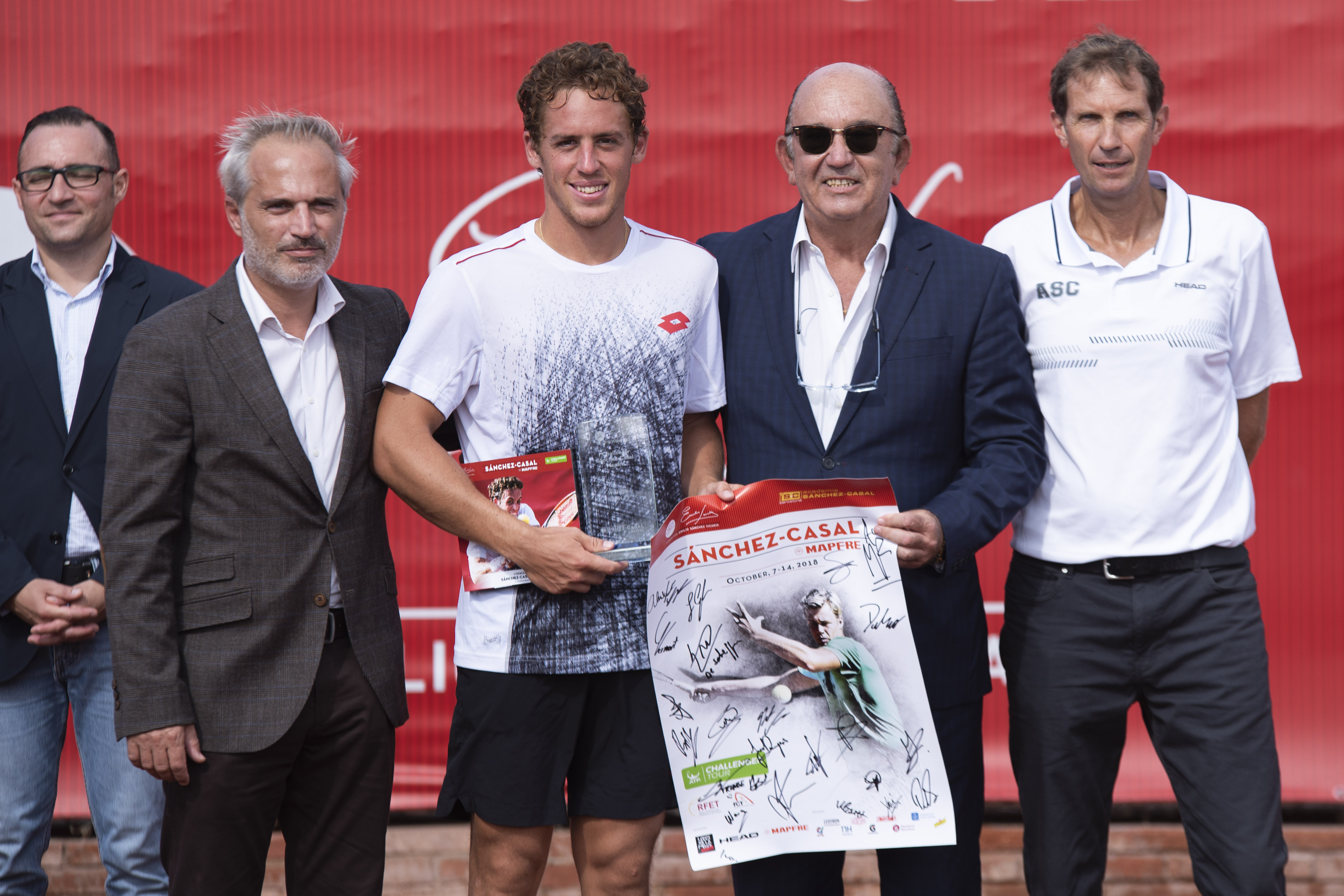 Image for El español Roberto Carballés, campeón del I Challenger Sánchez-Casal Mapfre