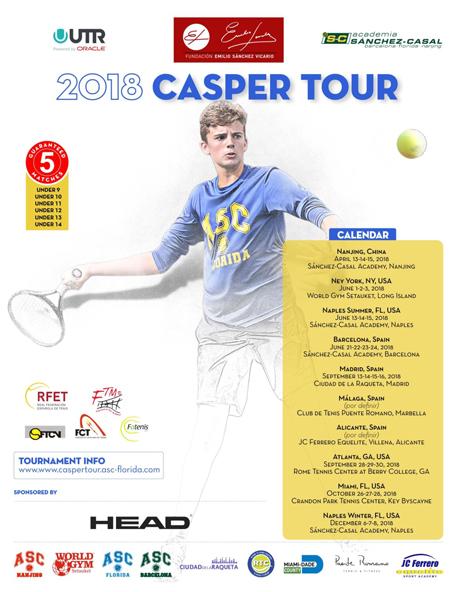 Image for La fuerza del legado de Casper y su espíritu de lucha, punto de partida del Casper Tour