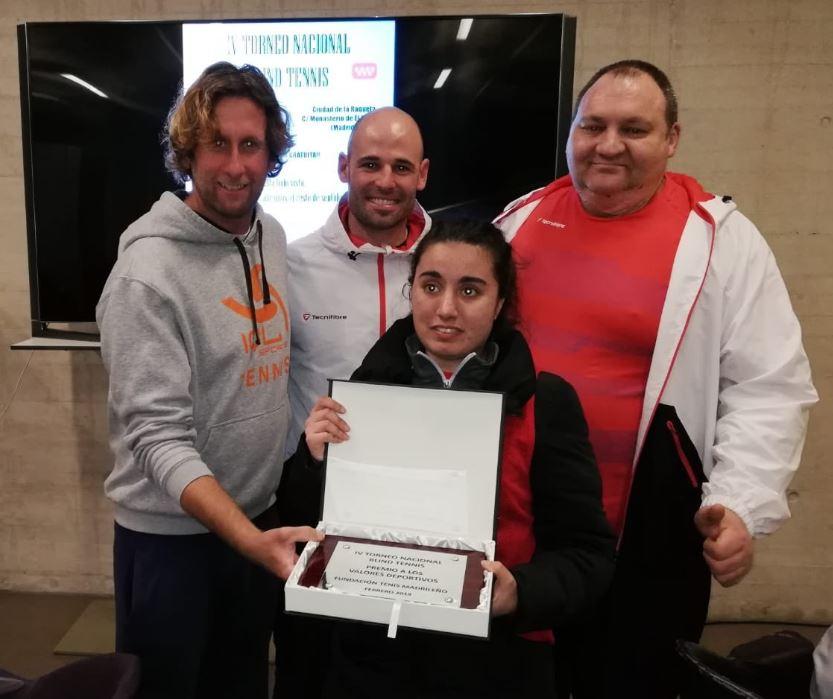 Image for El IV Torneo Nacional de Blind Tennis, ejemplo de superación en el Deporte